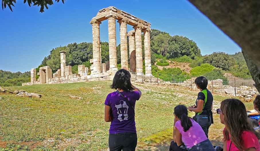 escursione culturale nel sud ovest della sardegna