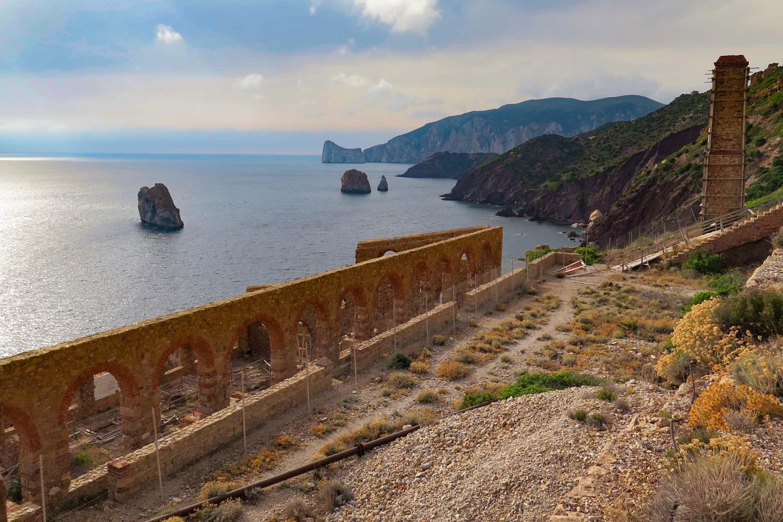 escursione culturale a Masua e Porto Flavia